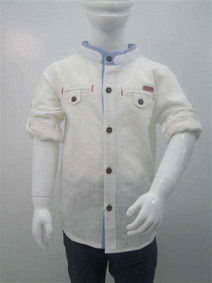 پیراهن پسرانه یقه دیپلمات (1)
