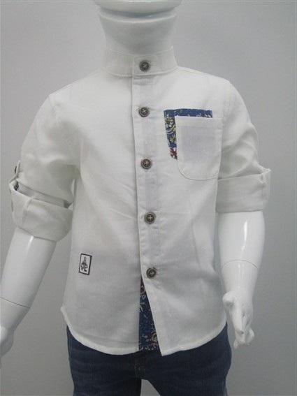 پیراهن پسرانه یقه دیپلمات (3)