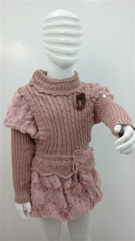 لباس-بافت-دخترانه-زمستانه-بچه (1)