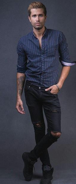 پیراهن مردانه اسپرت pm14