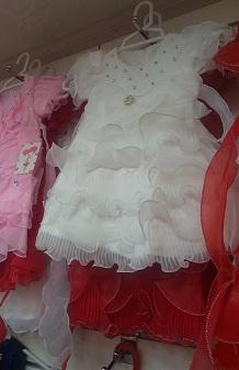مدل لباس عروس دخترانه بچه گانه d678