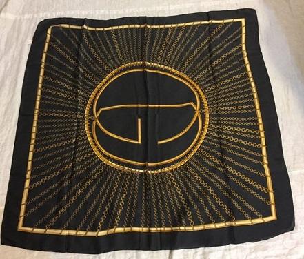 روسری ساتن ابریشم dr123