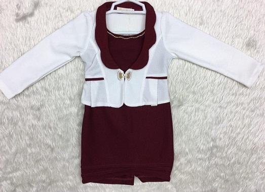 مدل لباس مجلسی بچه گانه dk1058